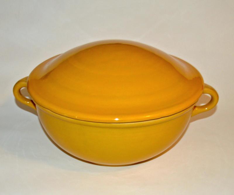 Fedeles keverőtál, közepes - sárga