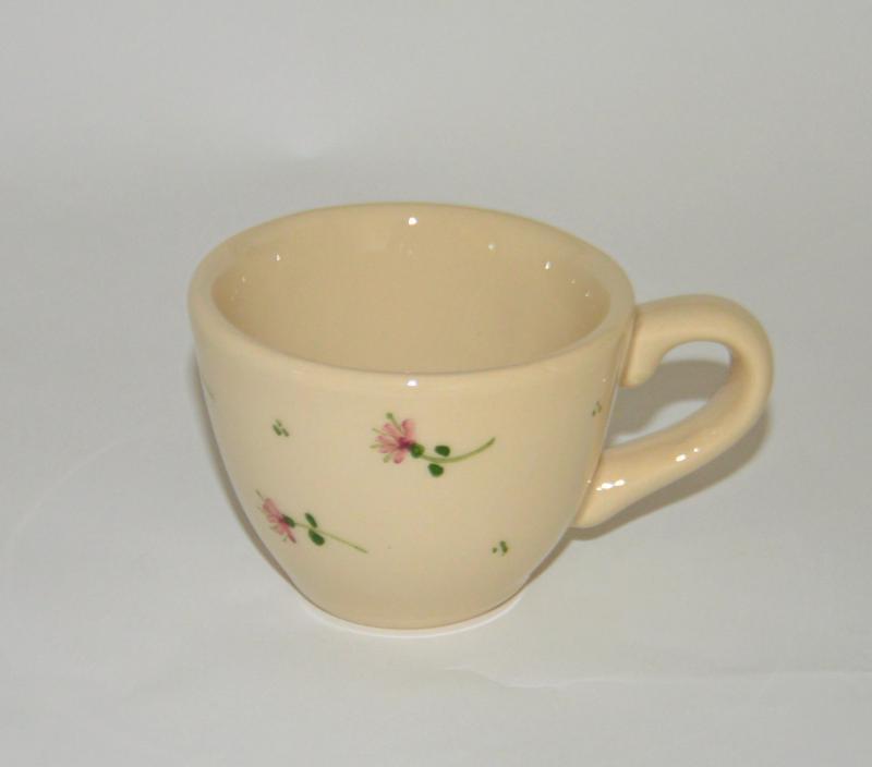 Kis mokkás csésze - Borbás Marcsi dekorral