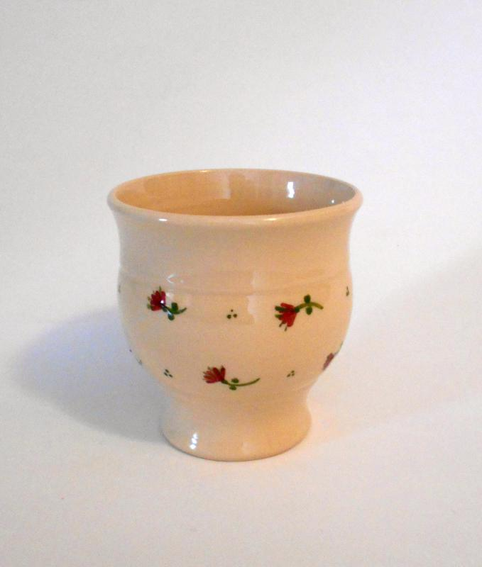 Reggeliző pohár - Borbás Marcsi dekorral