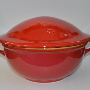 Fedeles keverőtál, nagy - gasztroangyal-piros