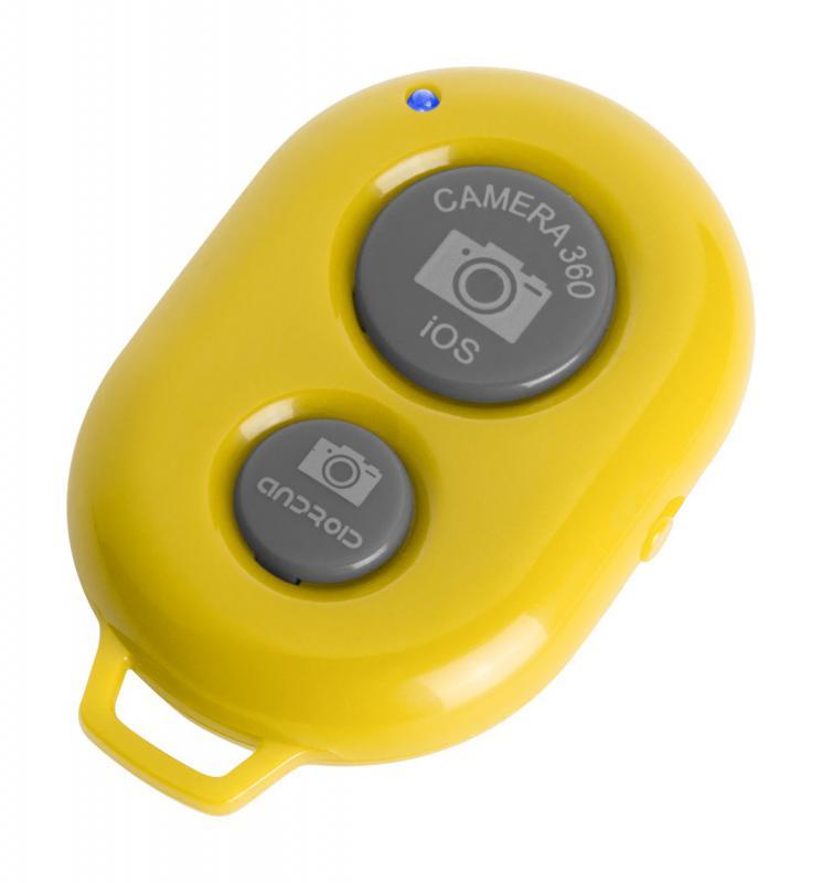 bluetooth távkioldó telefonhoz sárga