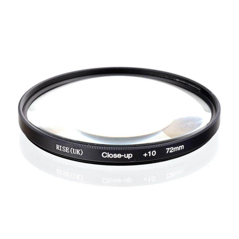 Close-up +10 macro előtétlencse 72mm