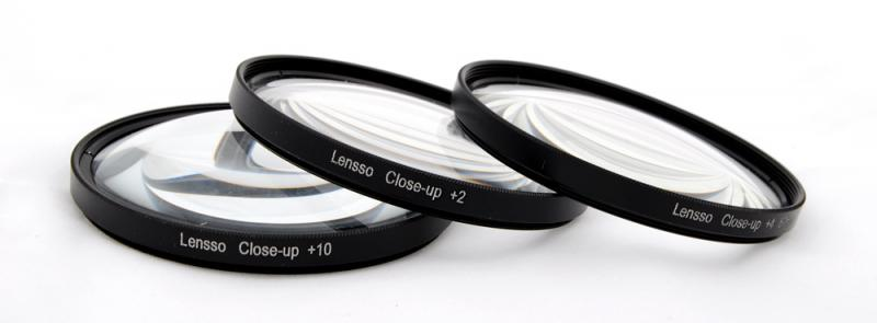 Close-up +2-4-10 macro előtétlencse szett 49mm