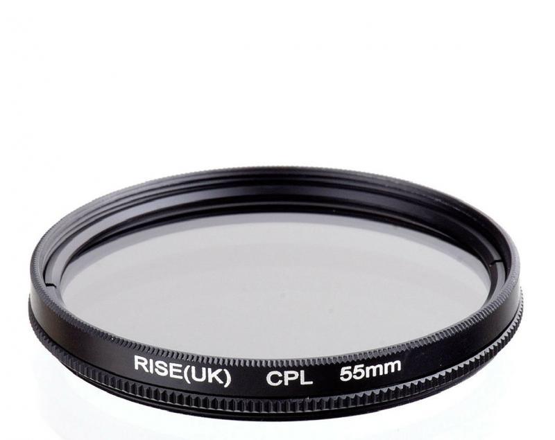 CPL szűrő 55mm LENSSO