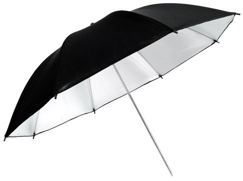 Ezüst-fekete ernyő 80cm