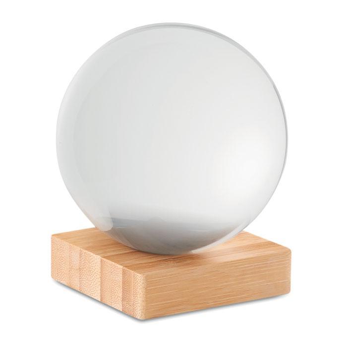 Fotós üveggömb, fotógömb + tasak