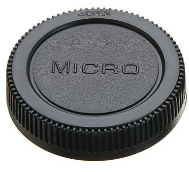 Micro 4/3 objektív sapka