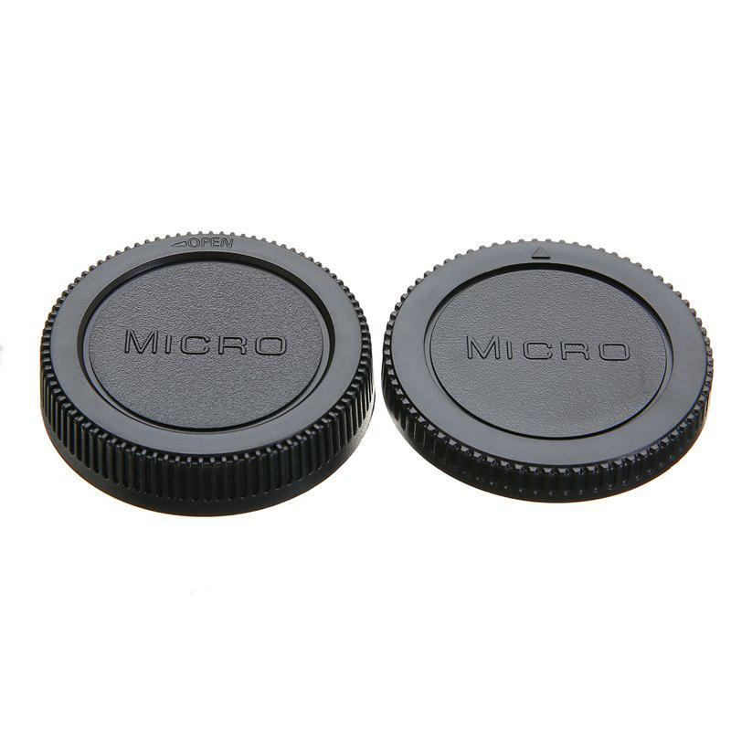 Micro 4/3 váz és objektív sapka