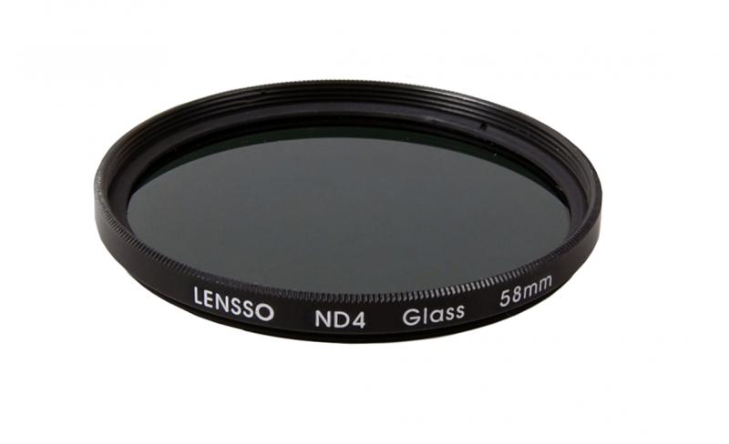 ND4 ND szűrő 58mm LENSSO