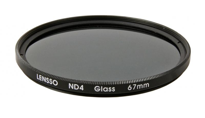 ND4 ND szűrő 67mm LENSSO