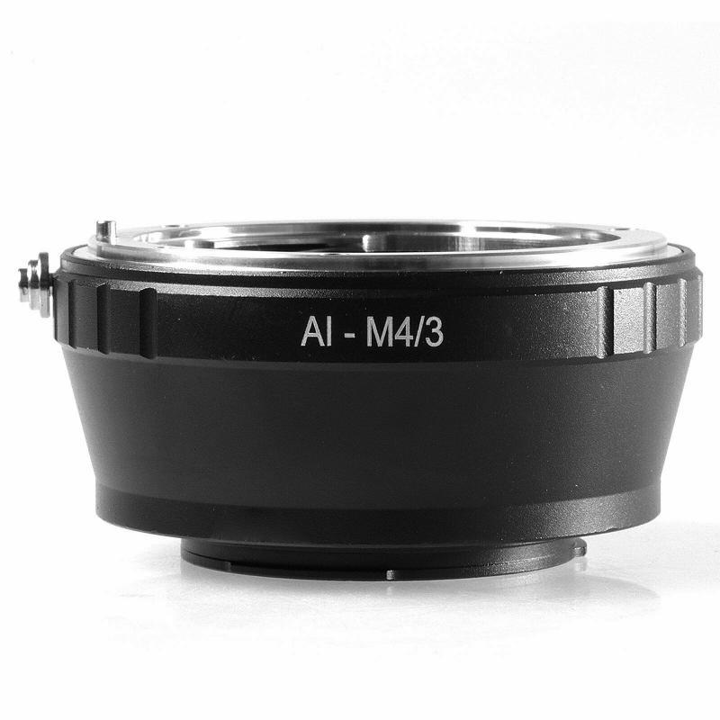 Nikon-Micro 4/3 adapter (AI-M4/3)