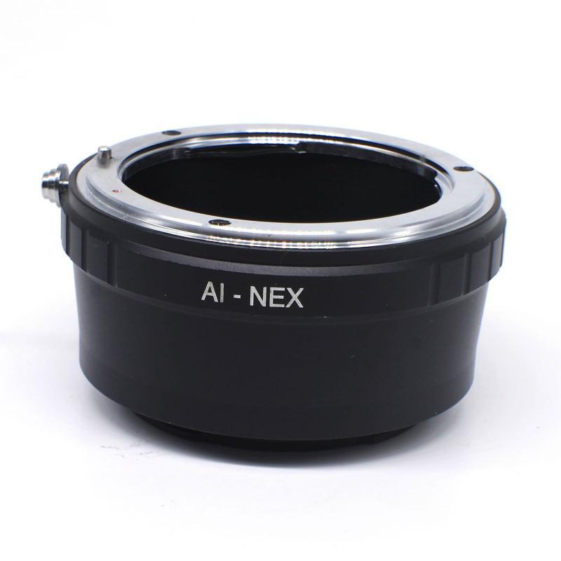 Nikon-Sony E adapter (AI-NEX)