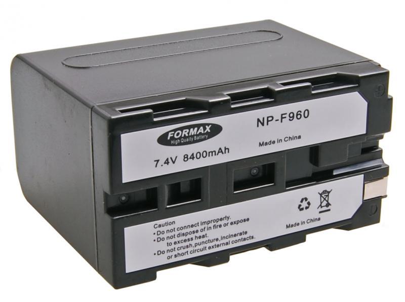 NP-F960 akkumulátor 8400mAh