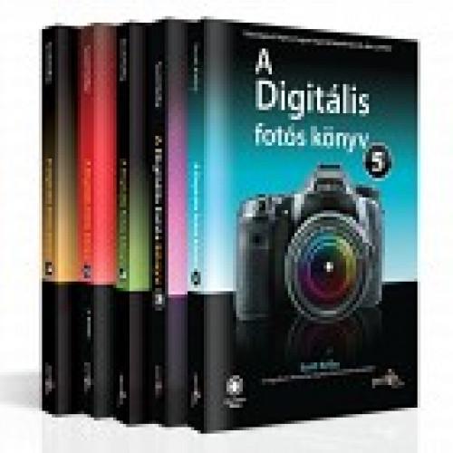 Scott Kelby - A digitális fotós könyv 1-5. könyvcsomag RENDELÉSRE