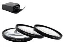 Close-up +2-4-10 macro előtétlencse szett 58mm