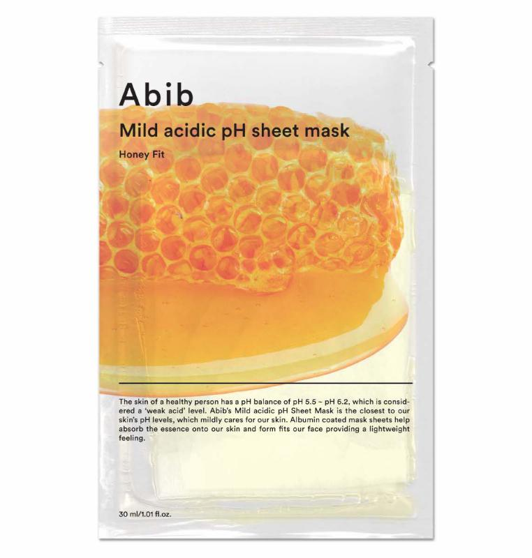 ABIB Mild Acidic pH Arcmaszk - Honey Fit (tápláló) 30ml
