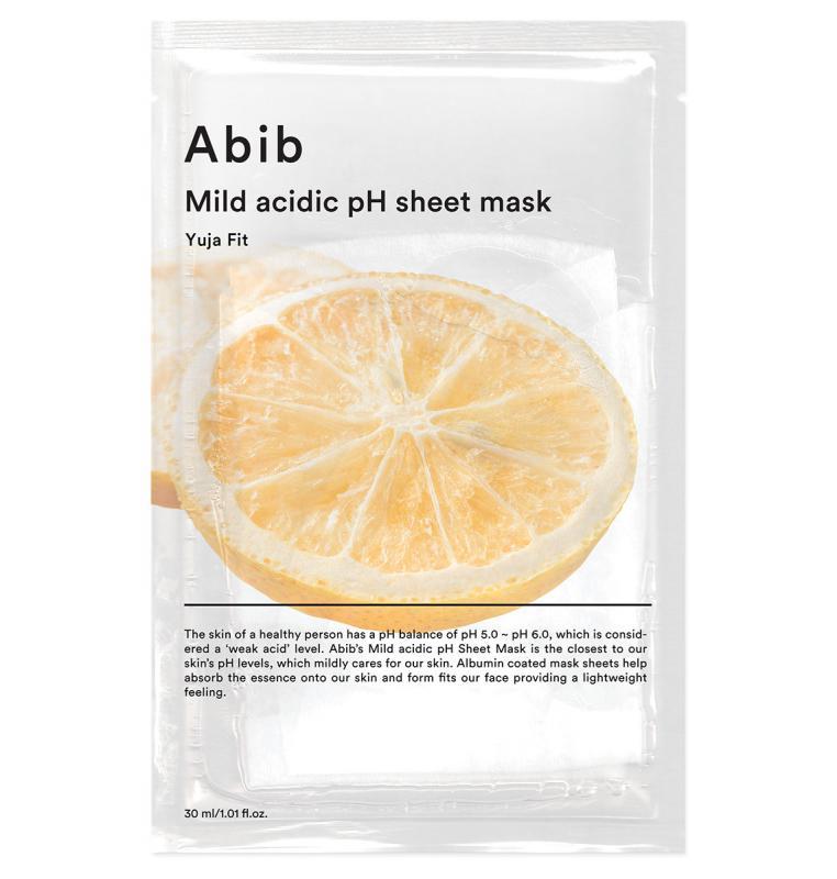 ABIB Mild Acidic pH Arcmaszk - Yuja Fit (revitallizáló) 30ml