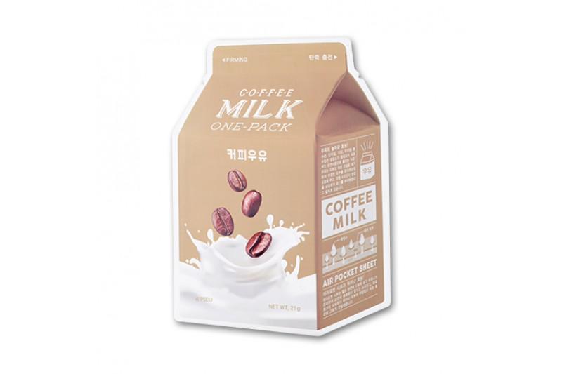 A'PIEU Milk Arcmaszk - Kávé (Feszesítő) 21g