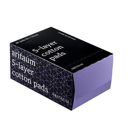 ARITAUM Kozmetikai Vattalap 5 rétegű 80db