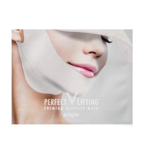 AVAJAR Perfect V Lifting Premium Toka Maszk - Activity (fehér) 1db