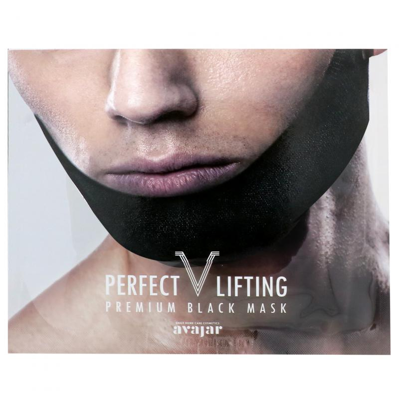 AVAJAR Perfect V Lifting Premium Toka Maszk - Black (fekete) 1db
