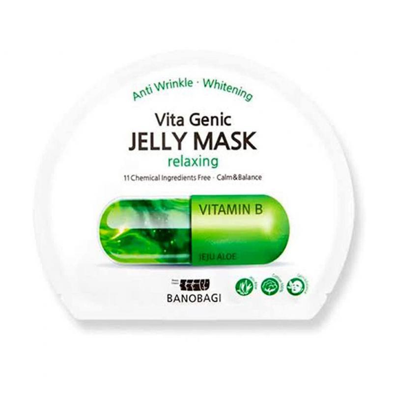 BANOBAGI Vita Genic Jelly Arcmaszk - Relaxing (nyugtató) 30ml