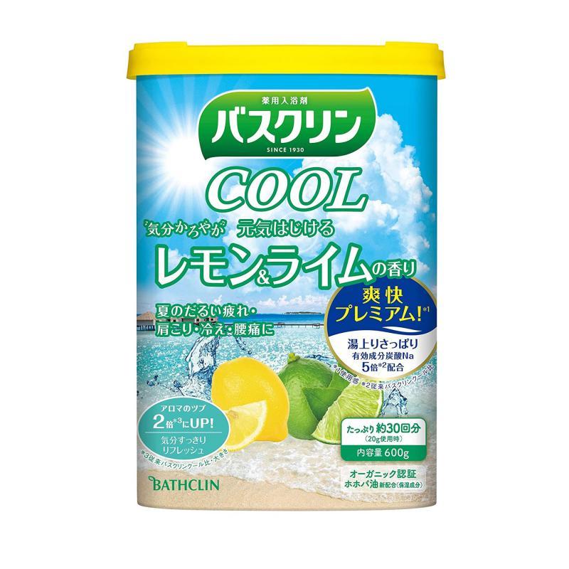 BATHCLIN Cool Bath Japán Fürdősó - Citrom & Lime 600ml