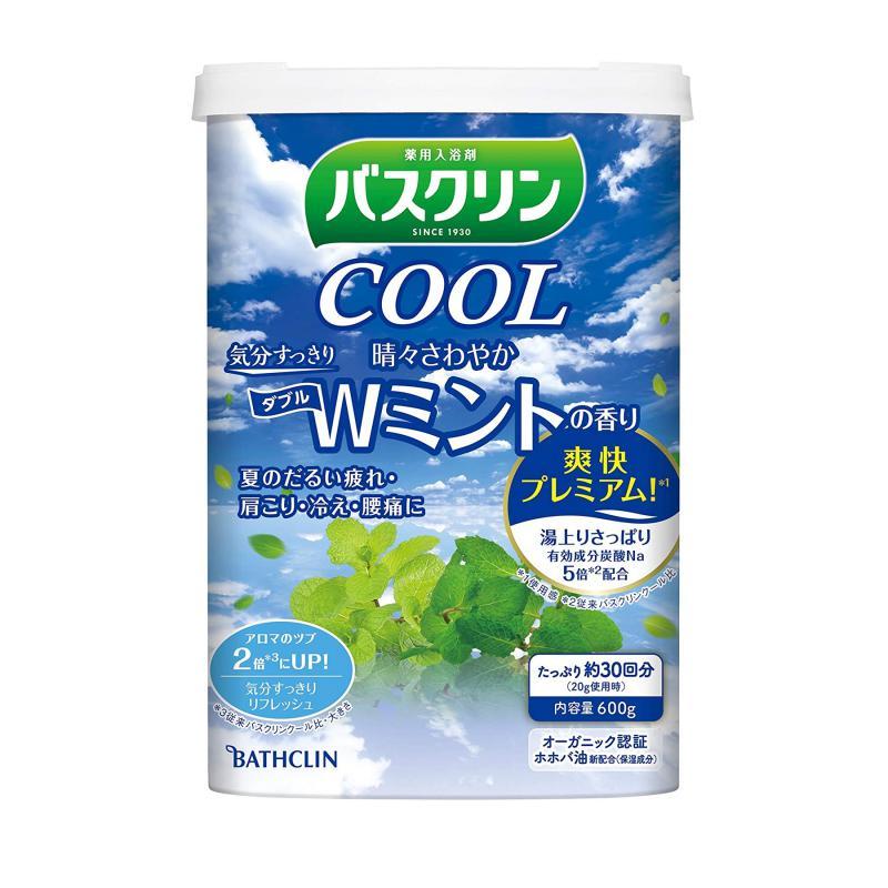 BATHCLIN Cool Bath Japán Fürdősó - W Frissítő Menta 600g