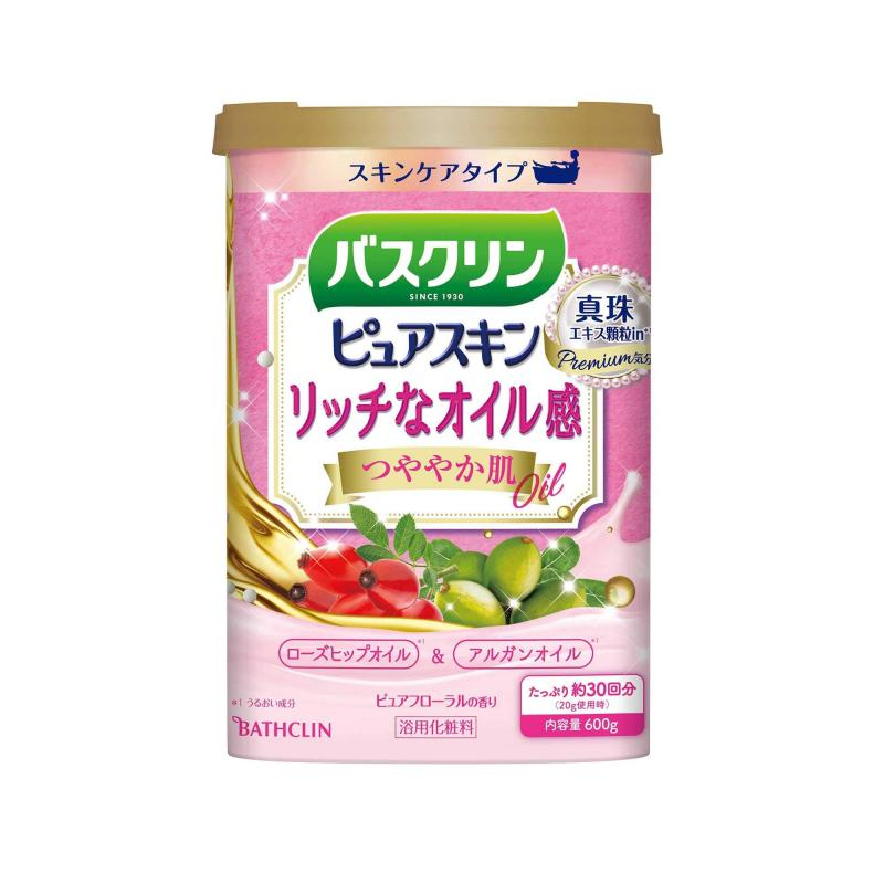 BATHCLIN Premium Pure Skin Japán Fürdősó - Shiny Skin 600g