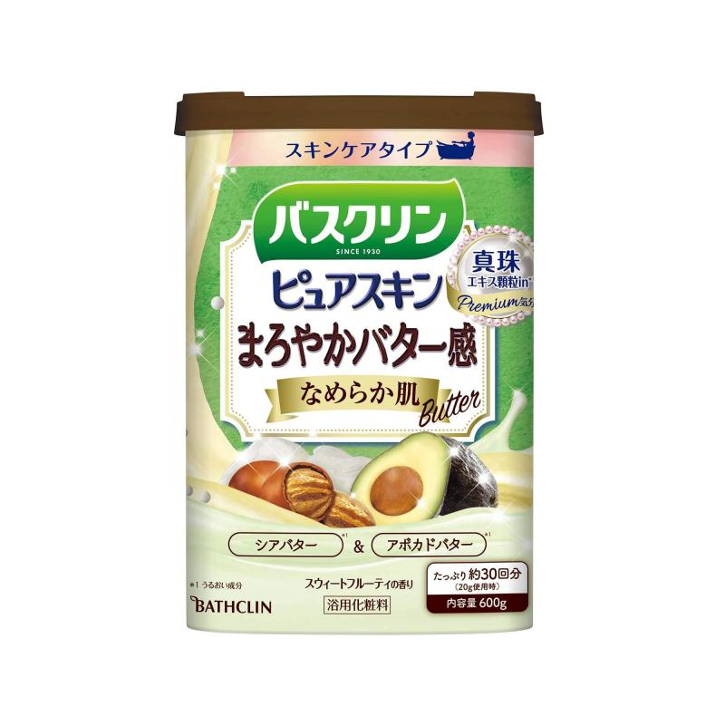 BATHCLIN Premium Pure Skin Japán Fürdősó - Smooth Skin 600g