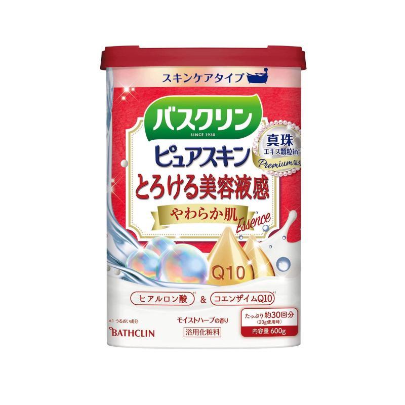 BATHCLIN Premium Pure Skin Japán Fürdősó - Soft Skin 600g