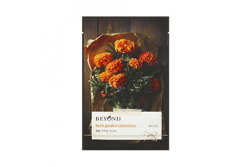 BEYOND Herb Garden Arcmaszk - Calendula / Körömvirág (Nyugtató) 22ml