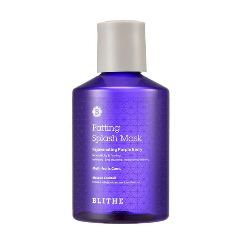 BLITHE Patting Splash Mask - Rejuvenating Purple Berry 150ml