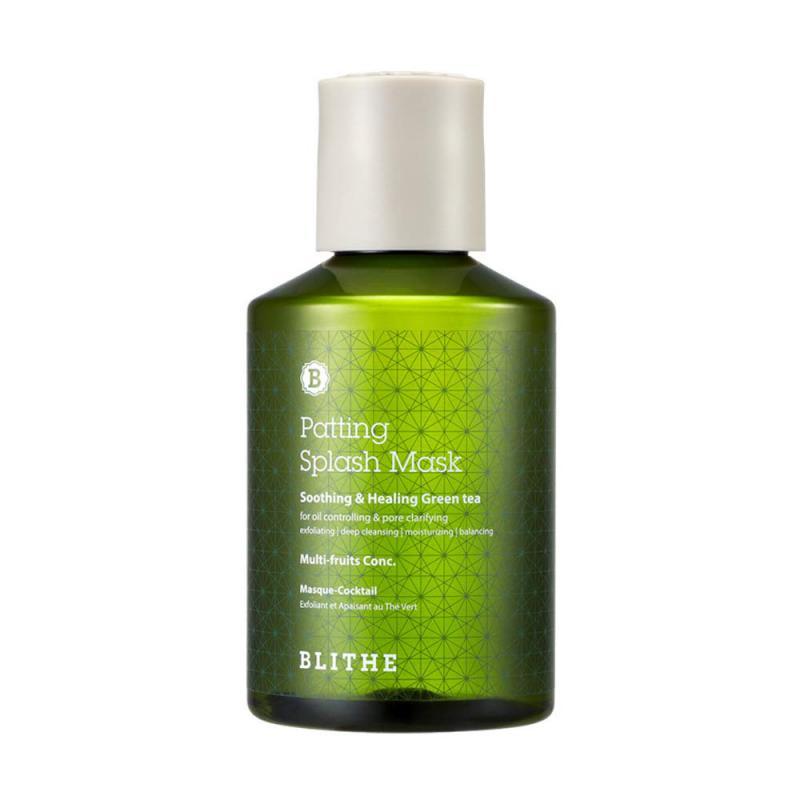 BLITHE Patting Splash Mask - Soothing & Healing Green Tea 150ml