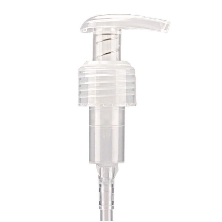 Boston barna pet flakon 250ml + Adagoló Pumpa (áttetsző)