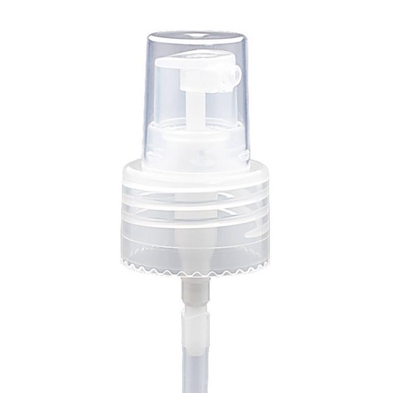 Boston barna pet flakon 250ml + Pumpás adagoló (áttetsző)