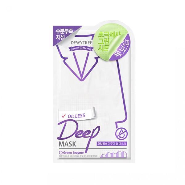 DEWYTREE Deep Green Enzyme Arcmaszk - Oil Less (zsíros bőrre) 27g