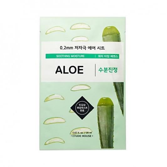 ETUDE HOUSE 0.2 Therapy Air Arcmaszk - Aloe (Nyugtató és Hidratáló) 20ml