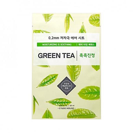 ETUDE HOUSE 0.2 Therapy Air Arcmaszk - Zöld Tea (Hidratáló és Nyugtató) 20ml