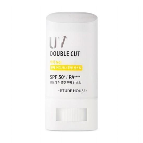 ETUDE HOUSE UV Double Cut Clear Fényvédő Stift 19g (SPF50+ PA++++)