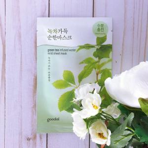 GOODAL Mild Arcmaszk - Zöld Tea (hidratáló) 23ml