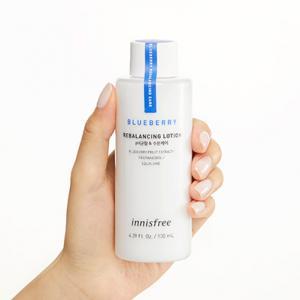 INNISFREE Blueberry Rebalancing Hidratáló Arctej 130ml