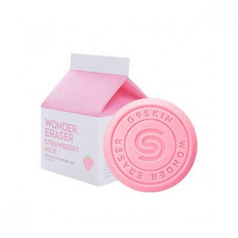 G9SKIN Wonder Eraser Arctisztító Szappan - Strawberry Milk 100g