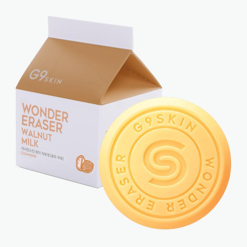 G9SKIN Wonder Eraser Arctisztító Szappan - Walnut Milk 100g