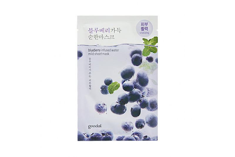 GOODAL Mild Arcmaszk - Áfonya (vitalizáló) 23ml