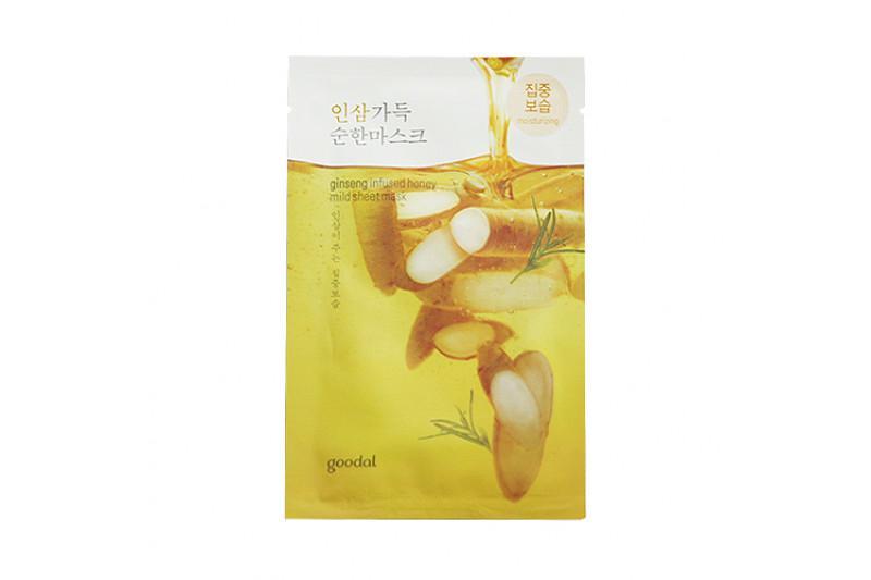GOODAL Mild Arcmaszk - Ginzenges Méz (hidratáló) 23ml