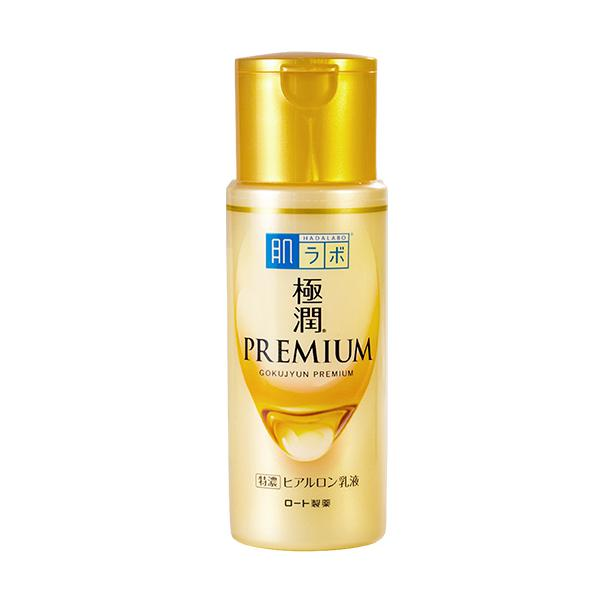 HADA LABO Gokujyun Premium Hyaluronic Acid - Emulzió 140ml