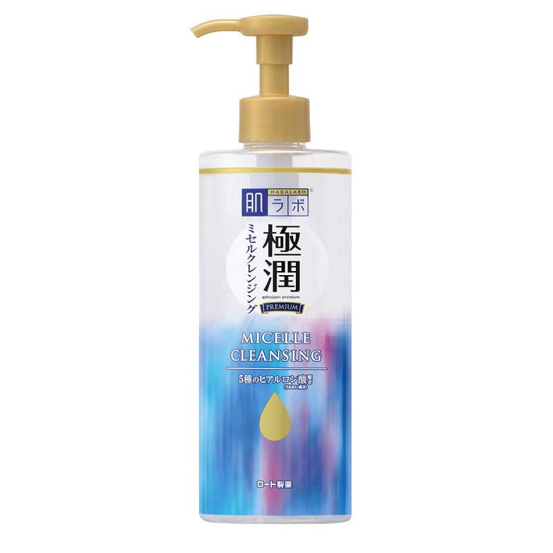 HADA LABO Gokujyun Premium - Micellás Víz 330ml