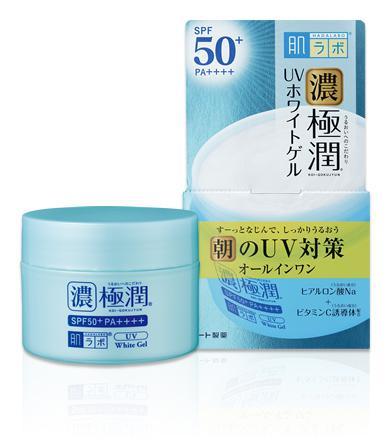 HADA LABO Koi-Gokujyun UV White Gél Arckrém SPF50 PA++++ 90g