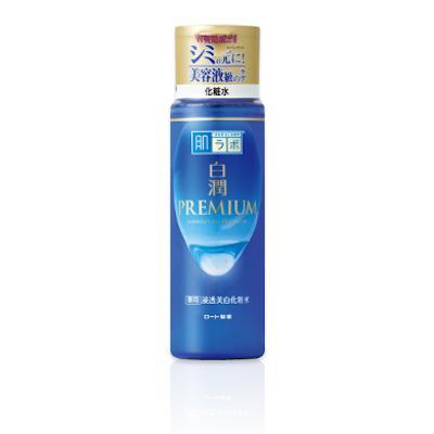 HADA LABO Shirojyun Premium Whitening Lotion Hidratáló Arctonik (Light) 170ml